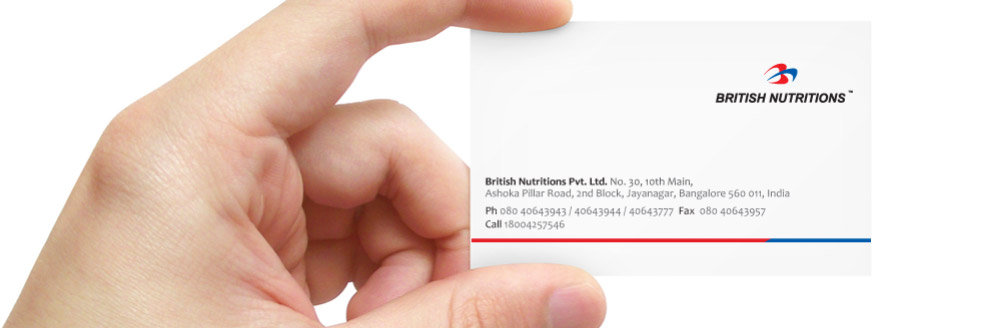 British Nutritions Contact Us